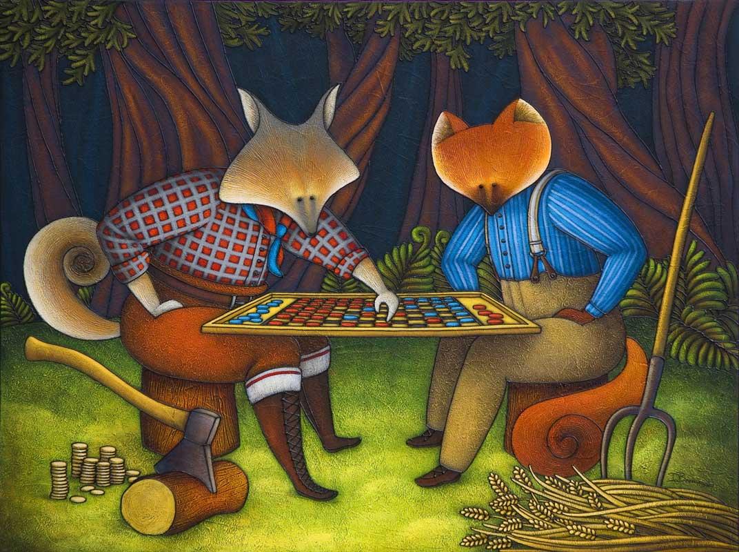 Faim de loup, fin renard